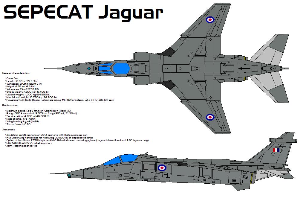 SEPECAT Jaguar by bagera3005 on DeviantArt