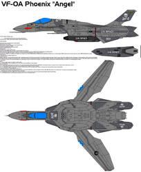 VF-0A Phoenix Angel by bagera3005