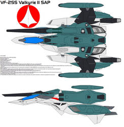 VF-2SS Valkyrie II SAP by bagera3005
