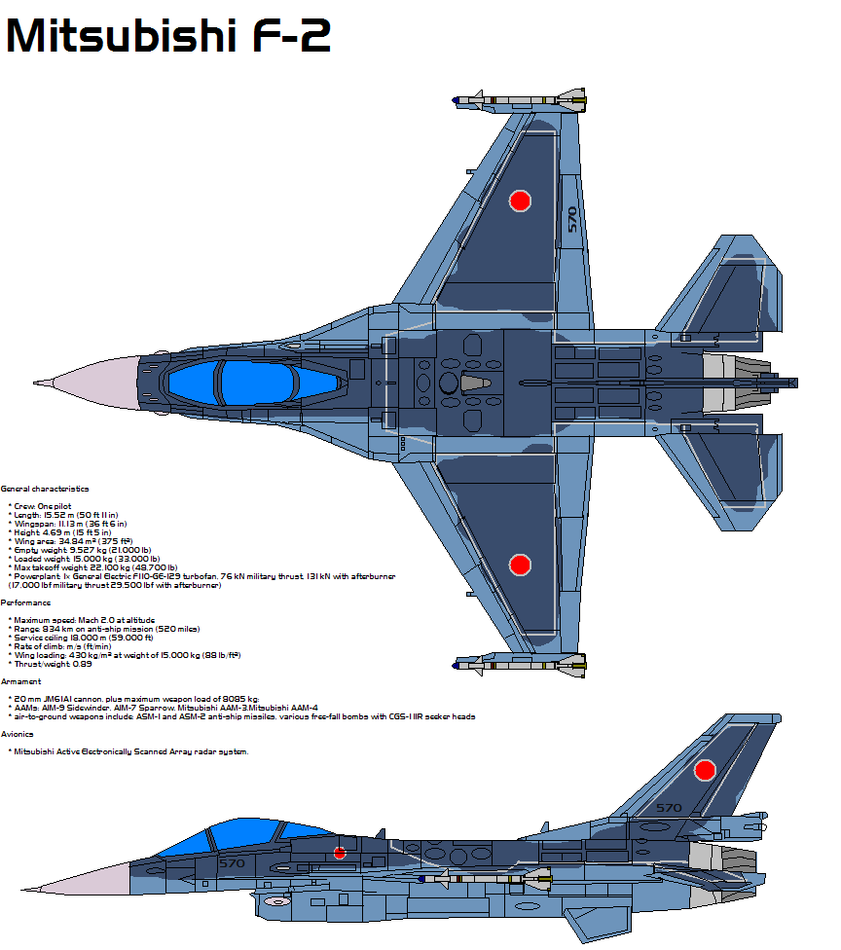 F-2 Mitsubishi by bagera3005 on DeviantArt