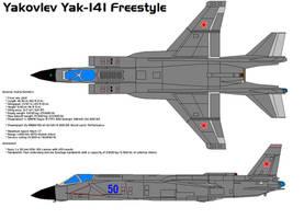 Yakovlev Yak-141 Freestyle by bagera3005