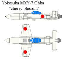 Yokosuka MXY7 Ohka by bagera3005