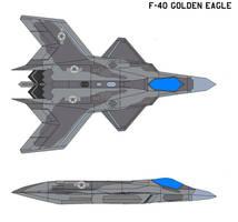 Grumman f-40 Golden Eagle by bagera3005