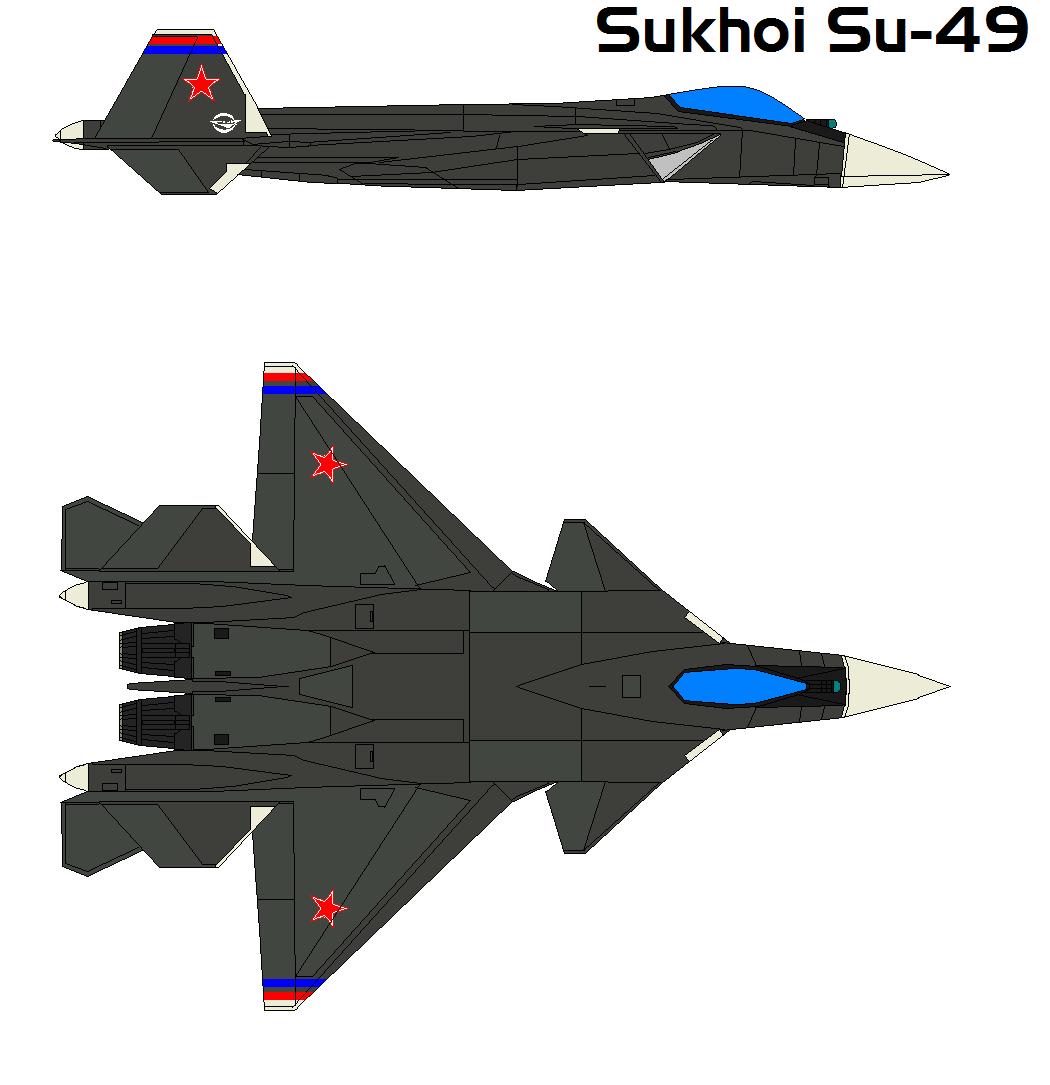 Sukhoi Su-49 By Bagera3005 On DeviantArt