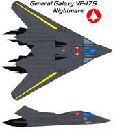 General Galaxy VF-17 Nightmare by bagera3005