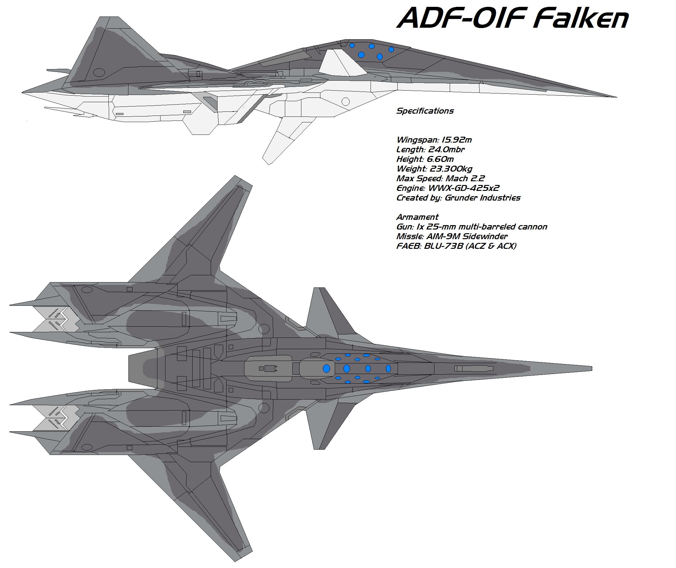 ADF-01F Falken by bagera3005