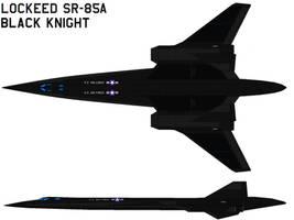Lockheed SR-85A Blackknight by bagera3005