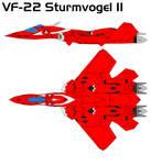VF-22S Battroid Mode in Mili
