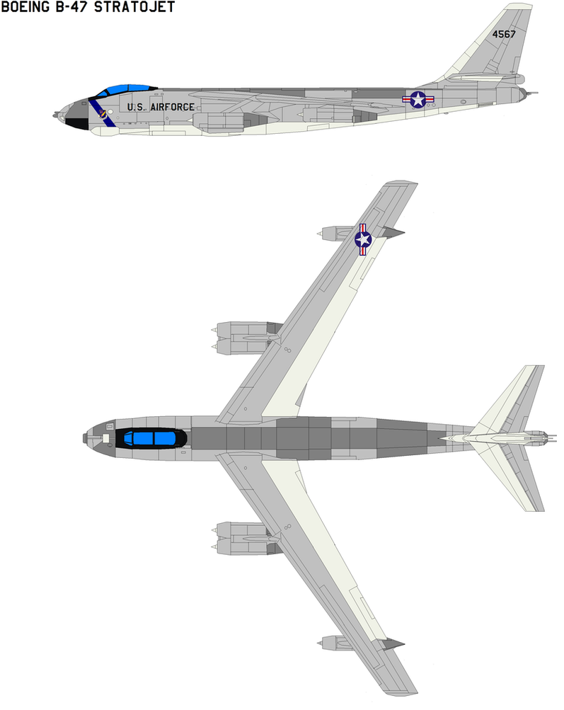 Boeing B 47 Stratojet By Bagera3005 On Deviantart