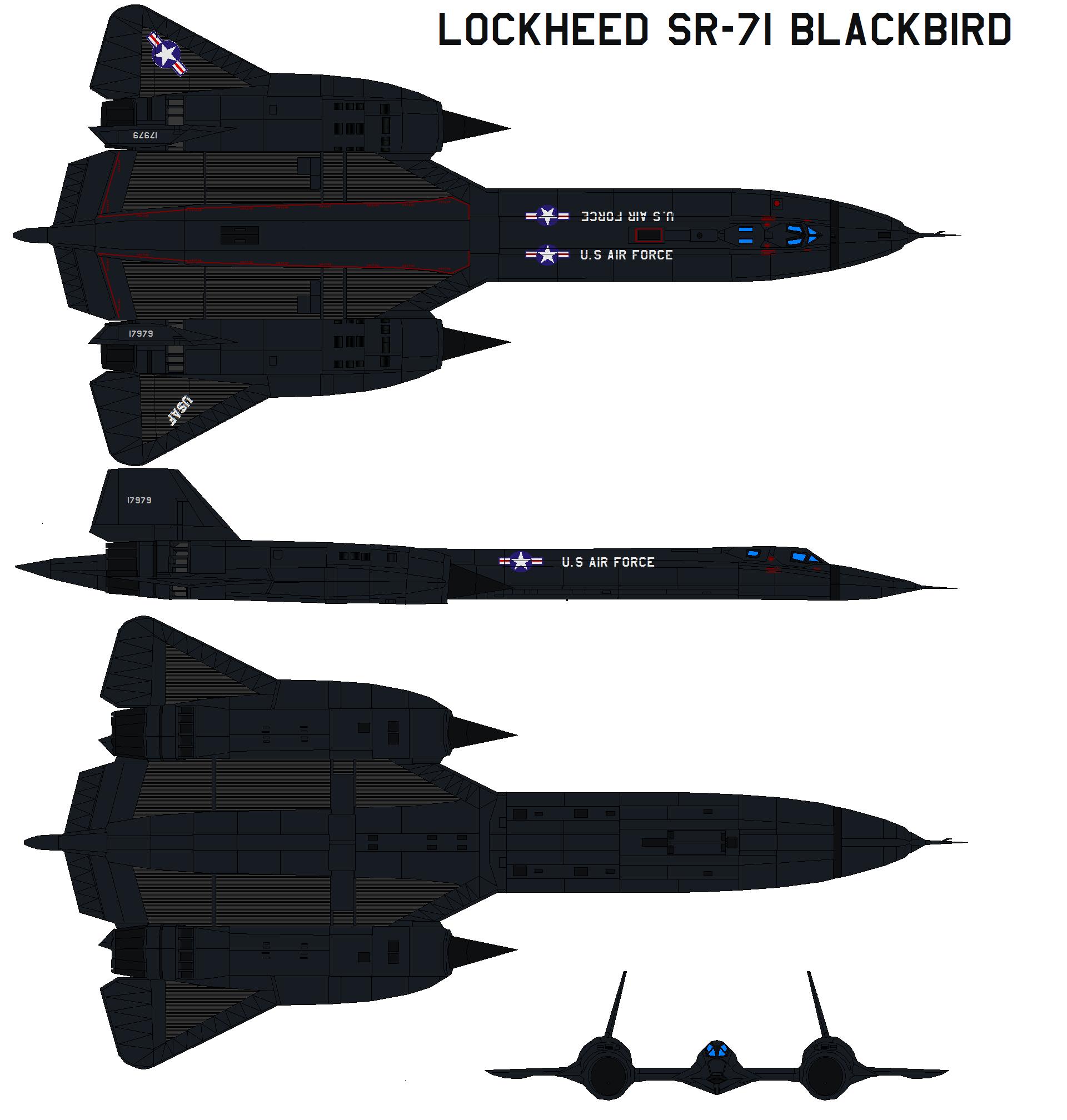 SR-71 blackbird by bagera3005