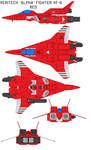 VAF-6 Alpha Fighter red