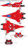 VAF-6 Alpha Fighter red