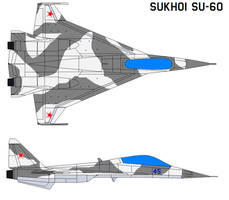 Sukhoi Su-60 by bagera3005