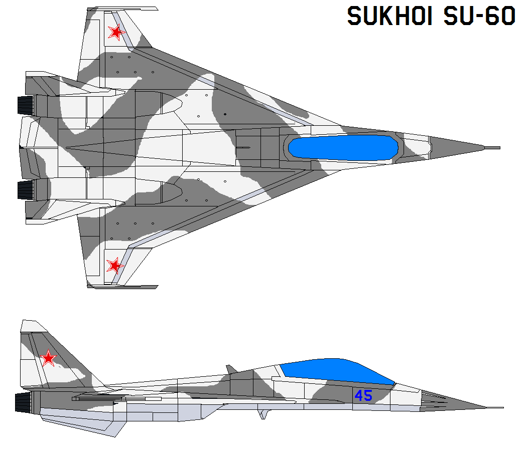 Sukhoi Su-60 By Bagera3005 On DeviantArt