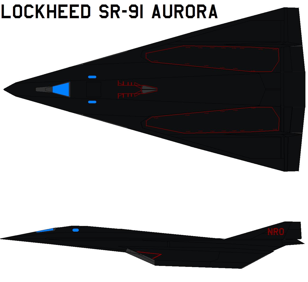 Lockheed SR-91 Aurora by bagera3005