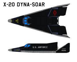 X-20 Dyna-Soar by bagera3005