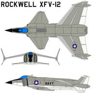 Rockwell XFV-12 by bagera3005