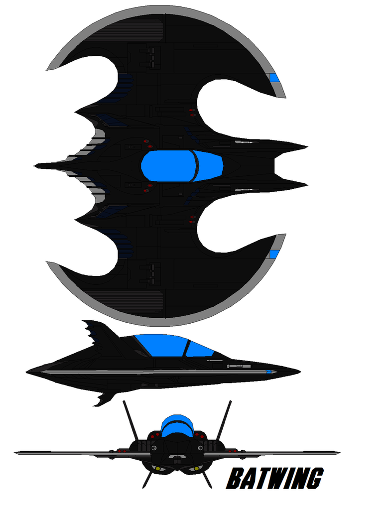batman move batwing by bagera3005