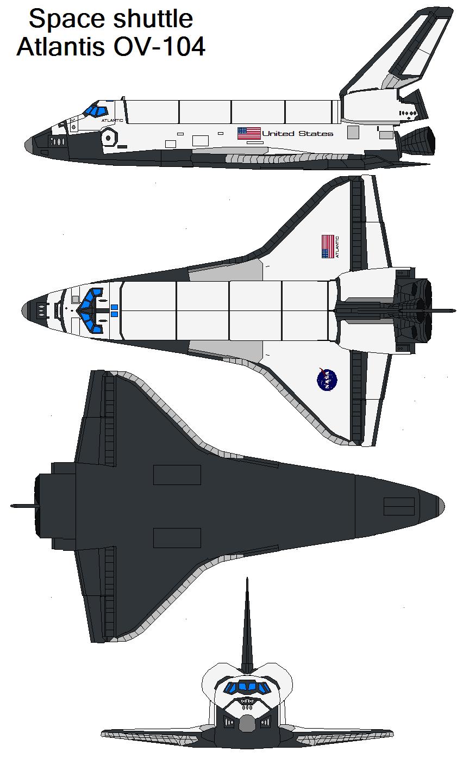 size of space shuttle atlantis - photo #33
