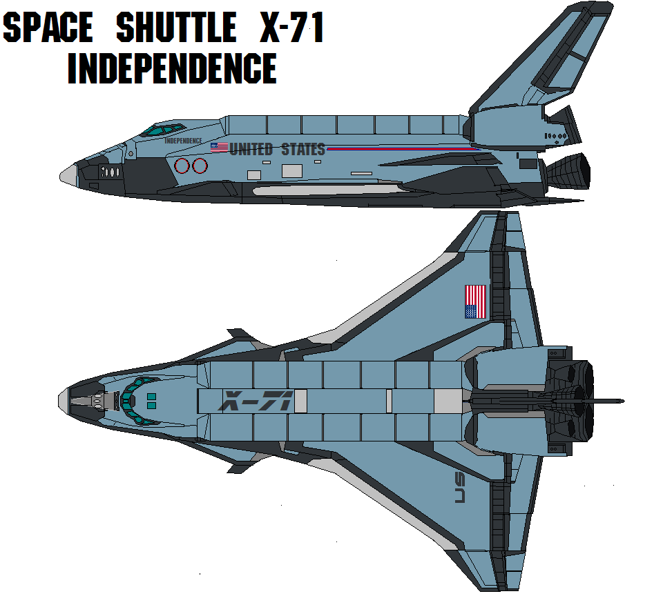 space shuttle x 71 - photo #1