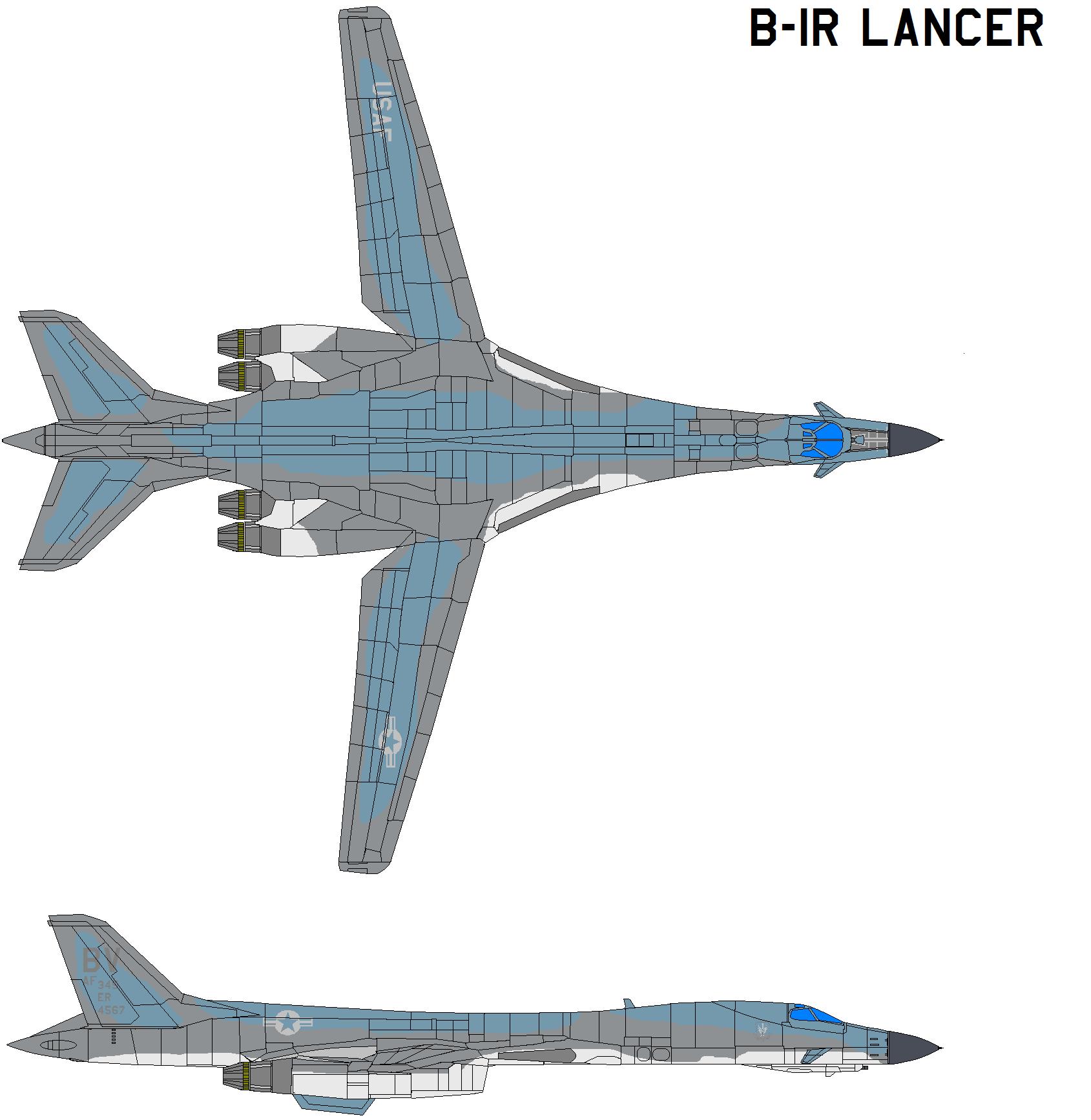 Boeing B-1R Lancer by bagera3005 on DeviantArt