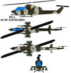 The Bell AH-1W SuperCobra USMC