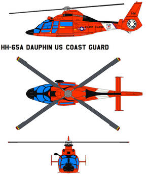 HH-65A Dauphin US Coast Guard