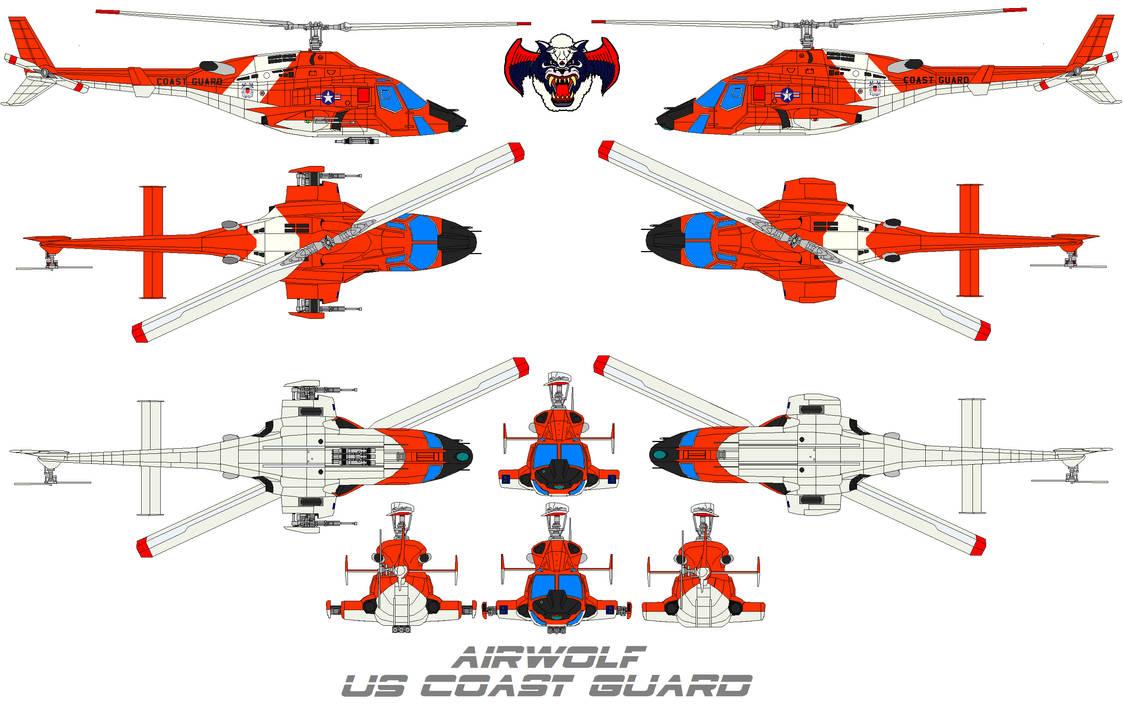 AIRWOLF US Coast Guard by bagera3005 on DeviantArt
