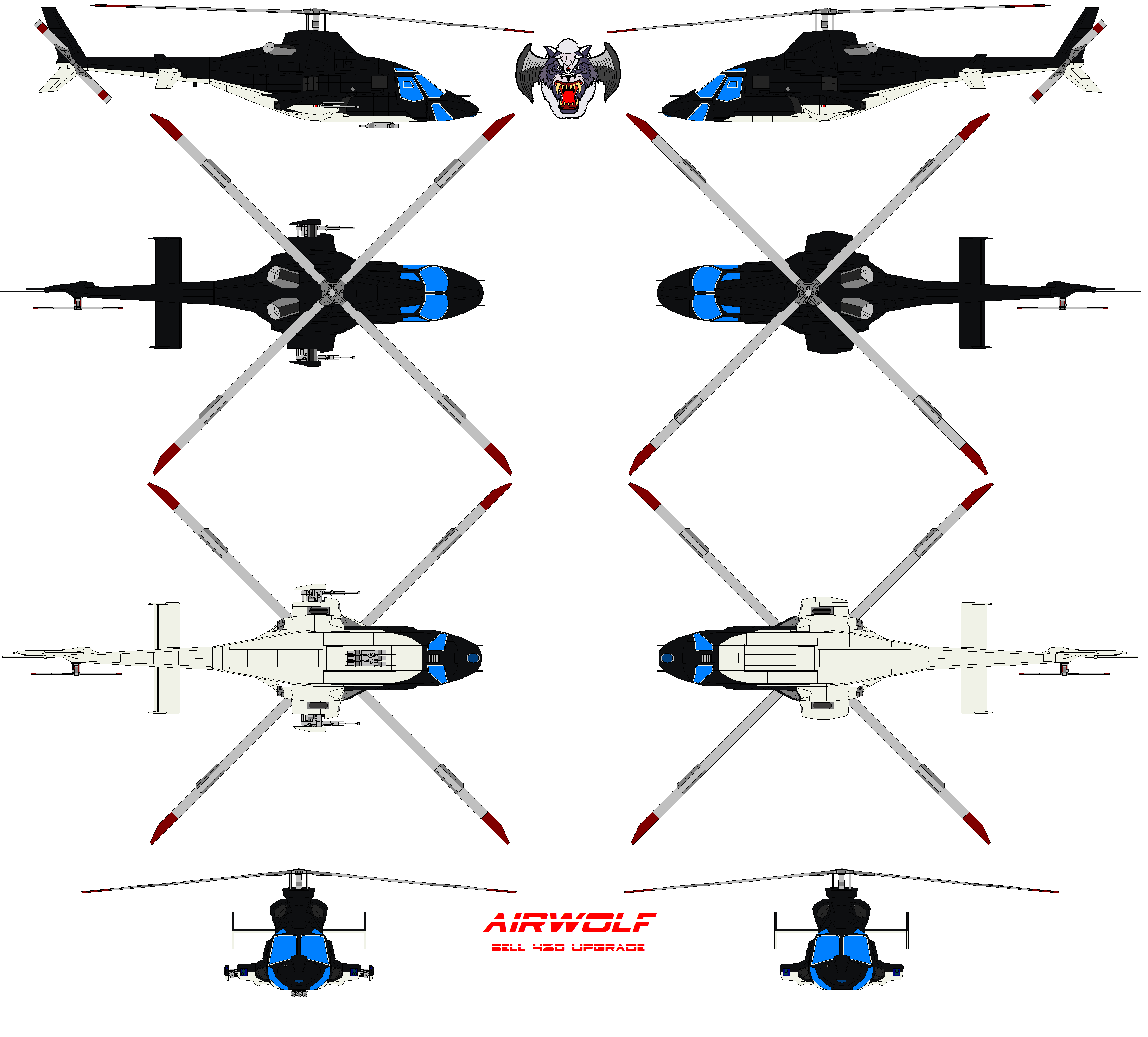 AIRWOLF AH-430 upgrade by bagera3005