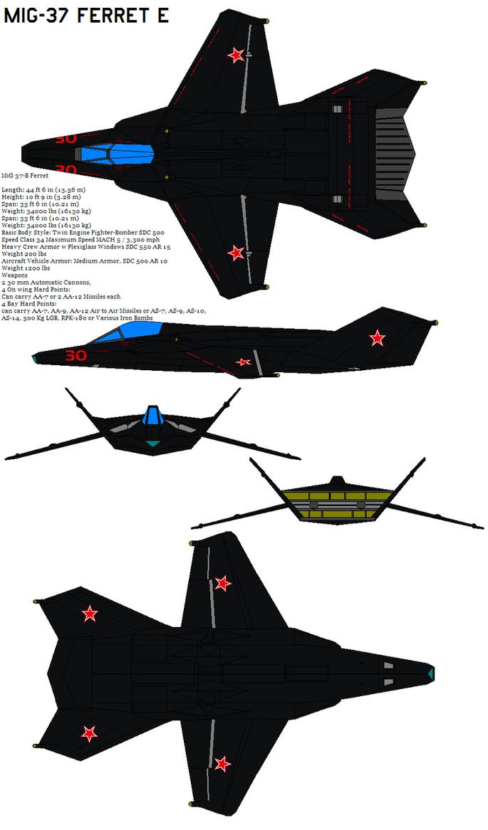 MiG 37-B Ferret by bagera3005
