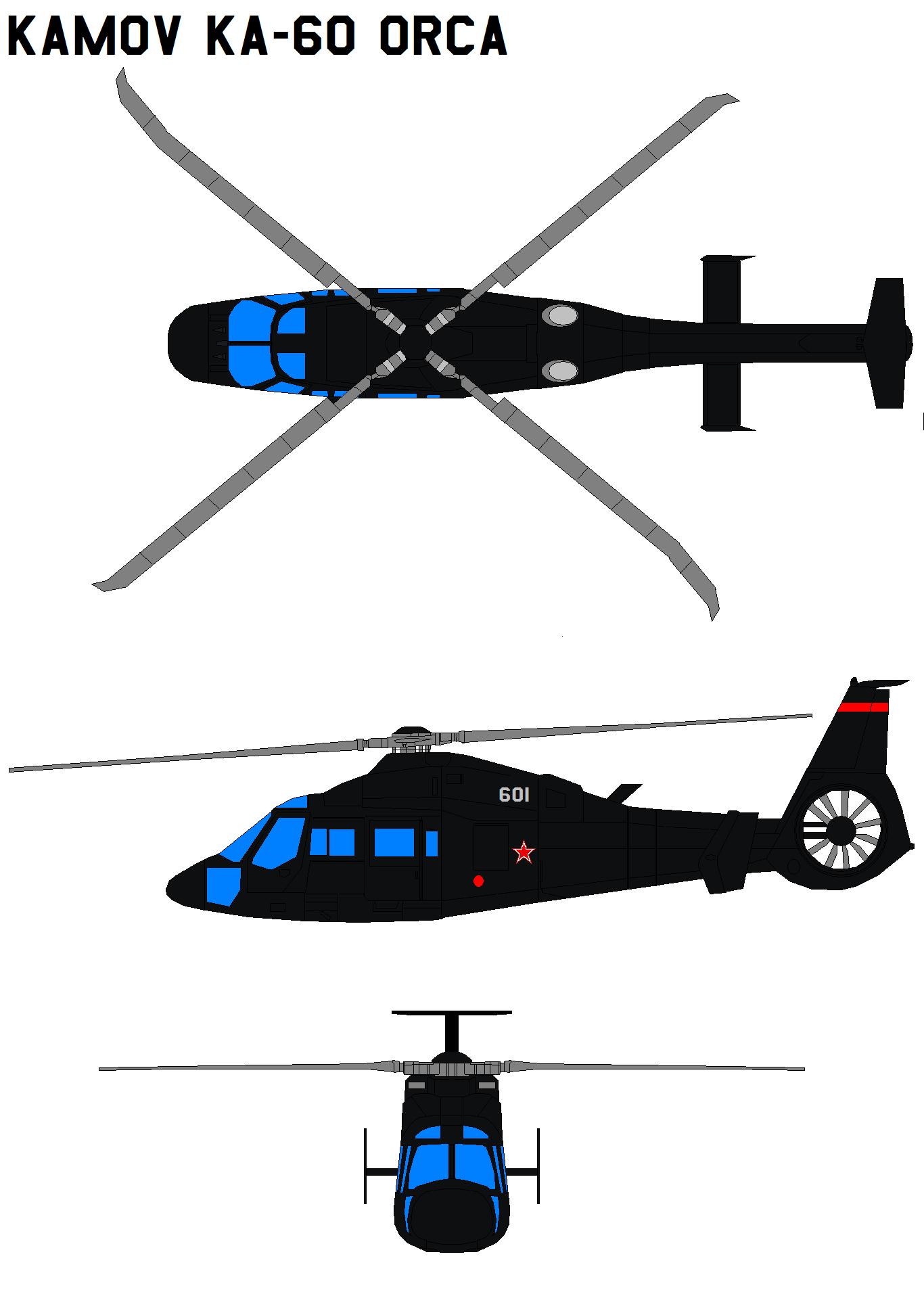 Kamov Ka-60 Orca by bagera3005