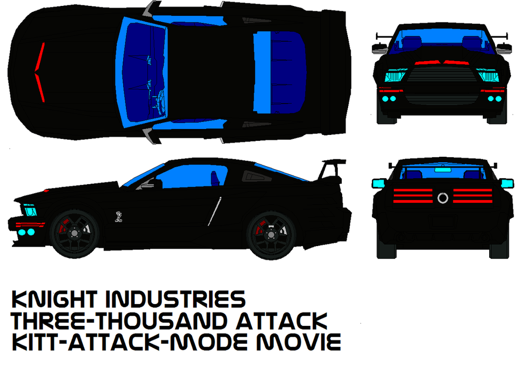 Kitt attack mode by bagera3005 on deviantart kitt attack mode by bagera3005 mozeypictures Images