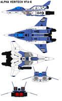 Alpha Veritech VFA-6 by bagera3005