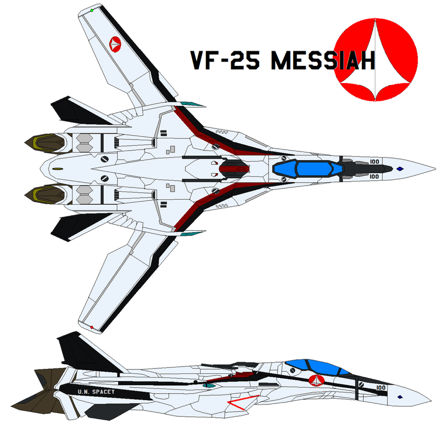 VF-25 Messiah by bagera3005