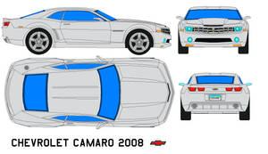 chevrolet camaro 2008 by bagera3005