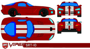 Dodge viper srt10 by bagera3005