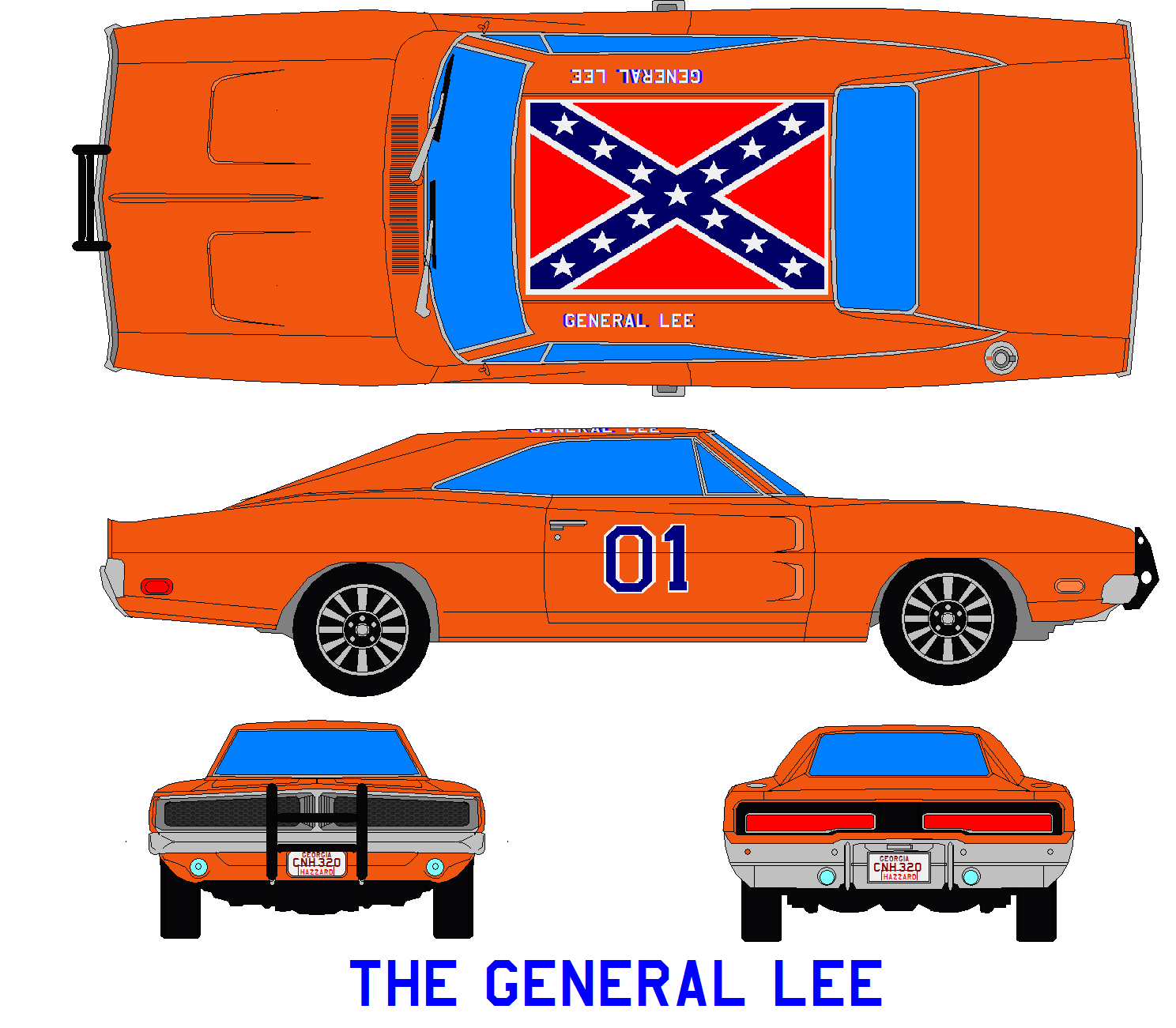 The General Lee By Bagera3005 On DeviantArt