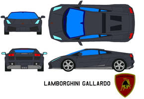 lamborghini gallardo by bagera3005