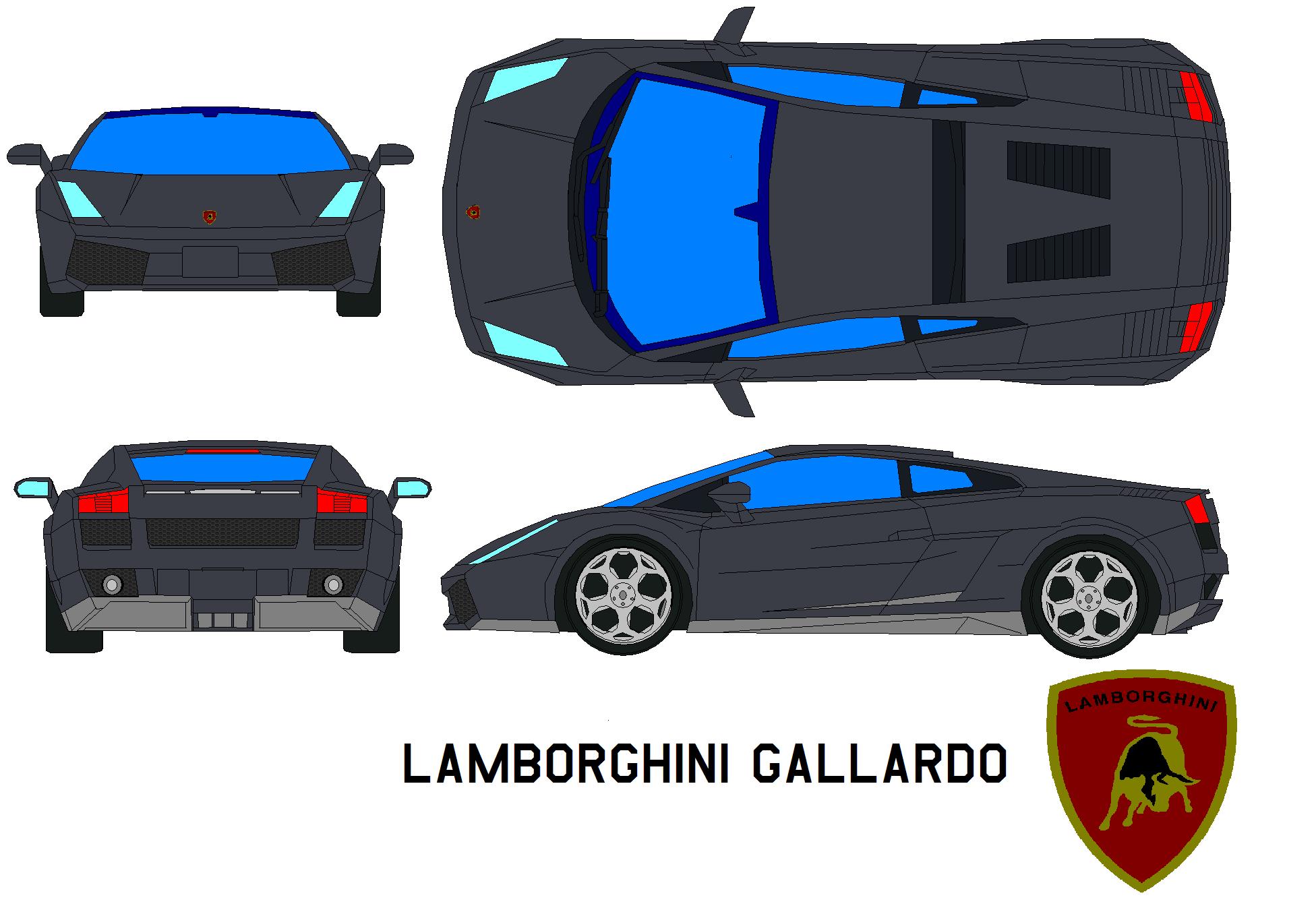 Lamborghini Gallardo Sports Car Vorsteiner White