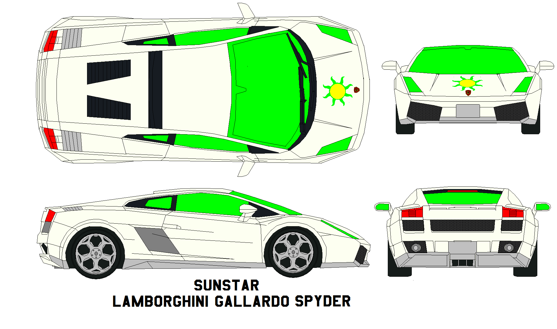 Lamborghini Outline With Aventador Coloring Page