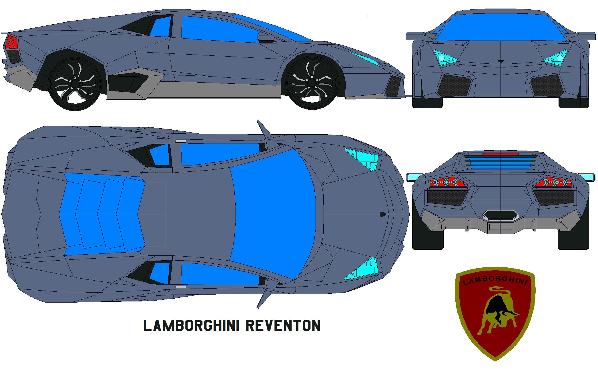 Image Result For Lamborghini Reventon Coloring