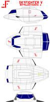 V skyfighter shuttle