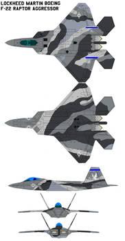 F-22 Raptor Aggressor