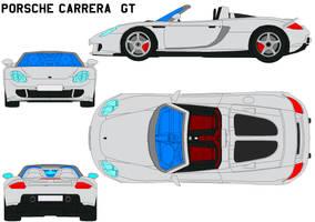 Porsche Carrera GT by bagera3005