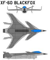 xf-60 blackfox by bagera3005