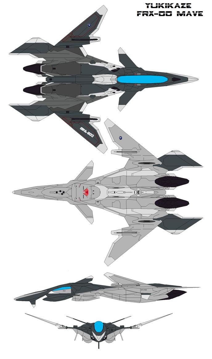 Yukikaze FFR-41MR FRX-00 Mave by bagera3005