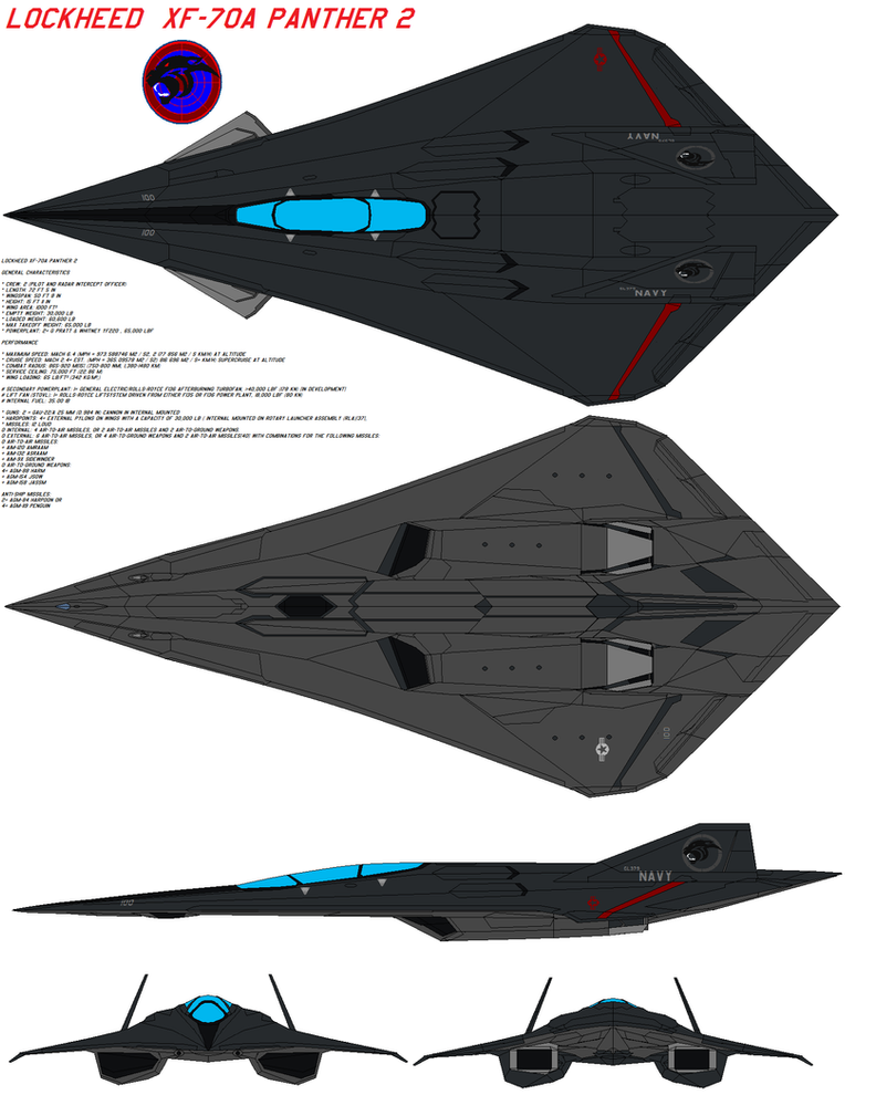 Lockheed Xf 70a Panther 2 By Bagera3005 On Deviantart