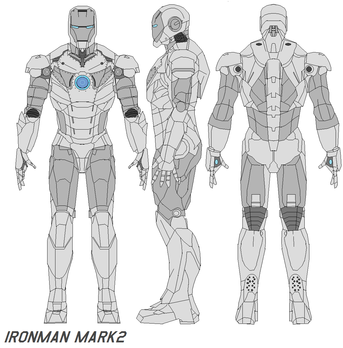 ironman mark 2 armor by bagera3005 ironman mark 2 armor by bagera3005