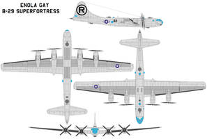 Enola Gay B-29 Superfortress by bagera3005