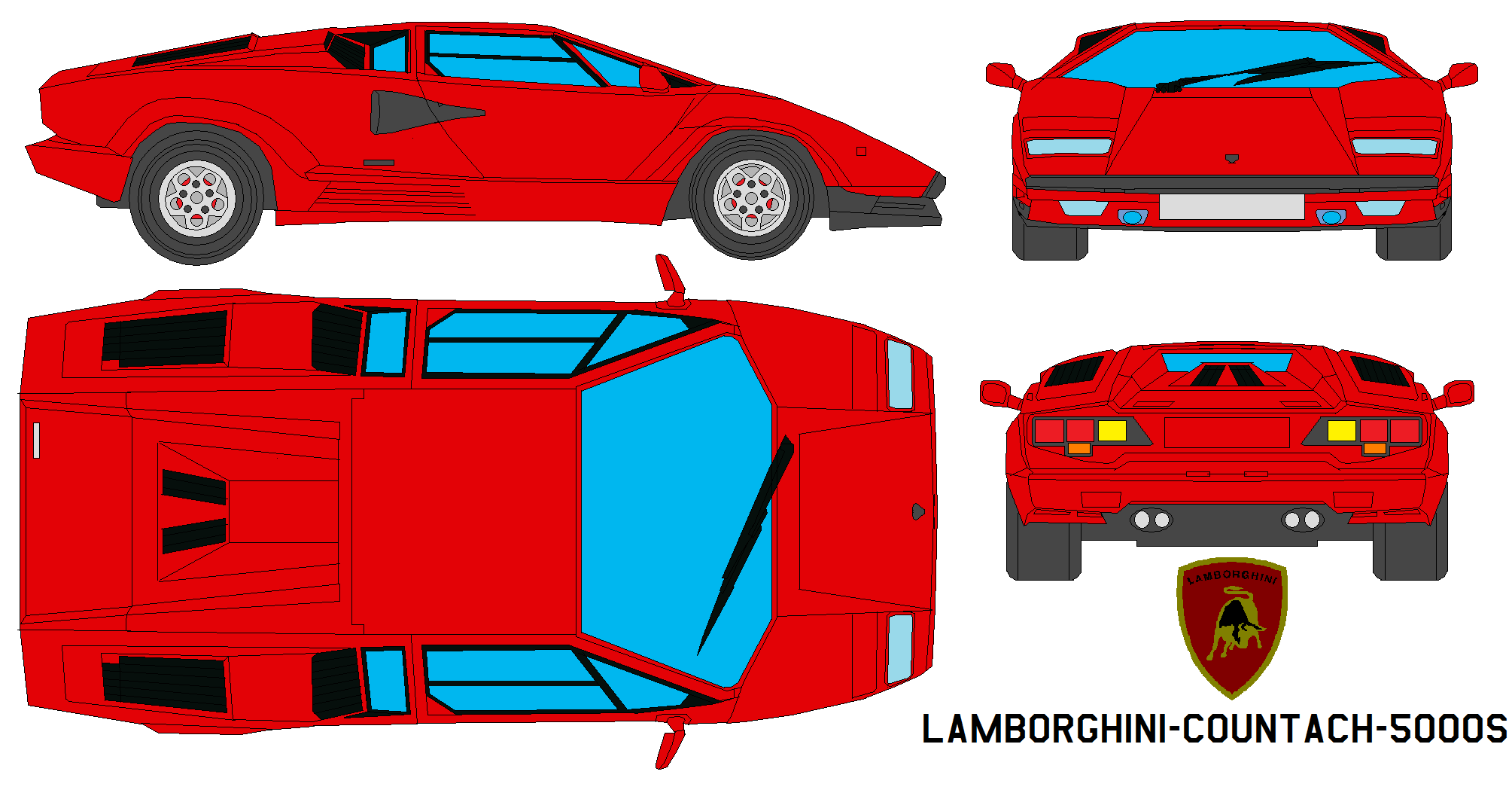 lamborghini_countach_5000s_by_bagera3005 Surprising Lamborghini Countach Real Racing 3 Cars Trend